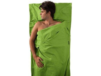 SEA TO SUMMIT Schlafsack Premium Cotton Travel Liner - Traveller (with Pillow slip) Green Grün