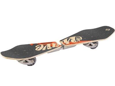 STREETSURFING Wooden Waveboard WAVE RIDER Grau