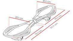 Vorschau: STREETSURFING Waveboard MINI SL