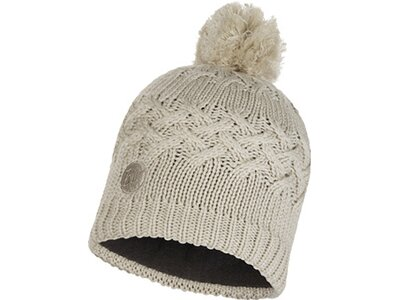 BUFF Herren Knitted & Polar Mütze SAVVA Silber