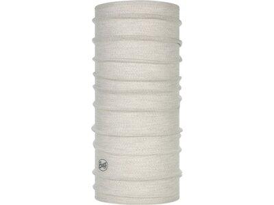 "BUFF Multifunktionstuch ""Lightweight Merino Wool Solid Bark"" Silber"