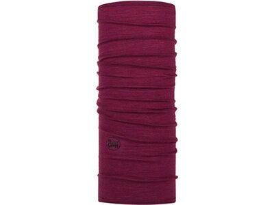 BUFF Multifunktionstuch Lightweight Merino Wool Slim Fit Schwarz