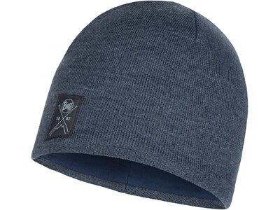 BUFF Herren Knitted & Polar Mütze SOLID Grau