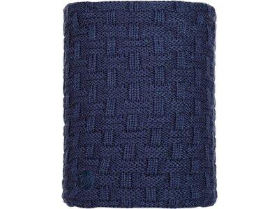 BUFF Herren Schal Knitted & Polar AIRON Blau