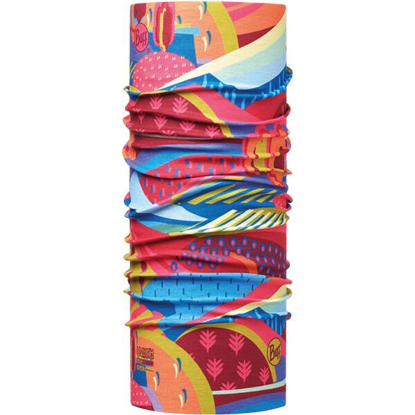 BUFF Kinder Schal UV Protection COLOURFUL MOUNTAINS MULTI