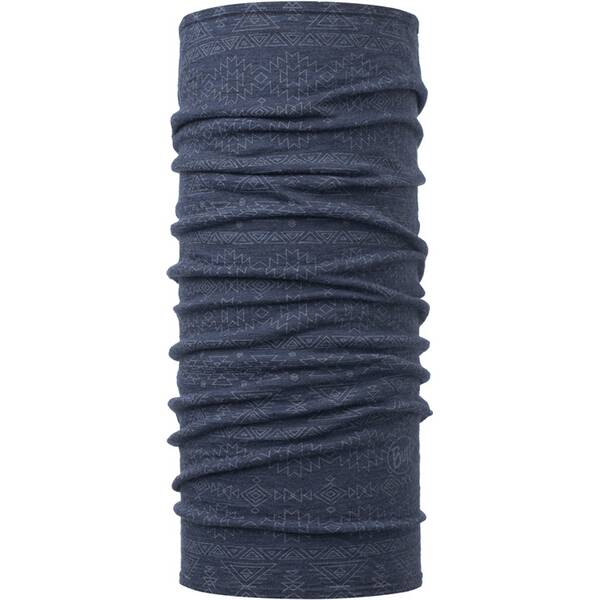 BUFF Herren Schal LIGHTWEIGHT MERINO WOOL EDGY DENIM