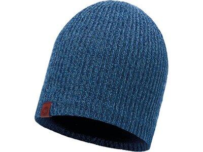 BUFF Herren Knitted & Polar Mütze LYNE Blau
