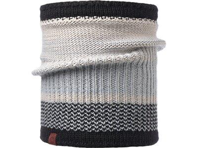 BUFF Herren Schal Knitted & Polar COMFORT BORAE Grau