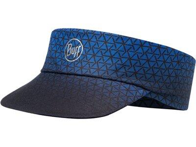 BUFF Herren PACK RUN VISOR R-EQUILATERAL CAPE BLUE Blau