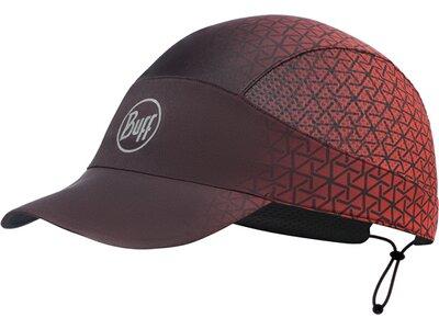 BUFF Herren PACK RUN CAP R-EQUILATERAL RED Rot