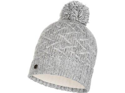BUFF Herren Knitted & Polar Mütze EBBA Silber