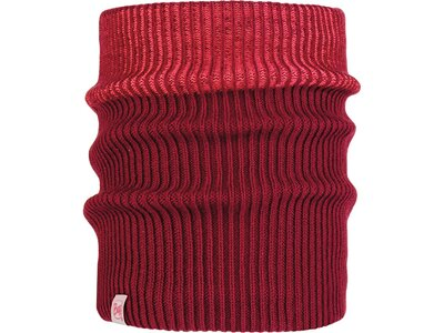BUFF Kinder Schal Knitted & Polar AUDNY Rot