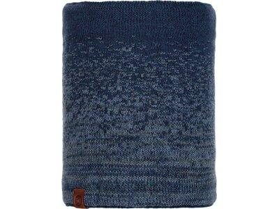 BUFF Herren Schal Knitted & Polar VALTER Blau
