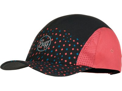 BUFF Herren RUN CAP R-LIW MULTI Rot