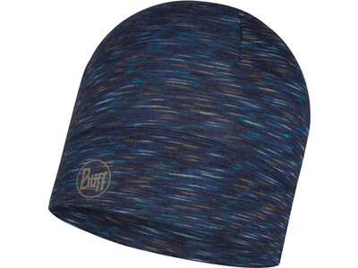 BUFF Herren LIGHTWEIGHT MERINO WOOL Mütze MULTI STRIPES Blau