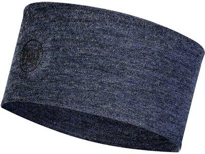 BUFF Herren MIDWEIGHT MERINO WOOL Stirnband Blau