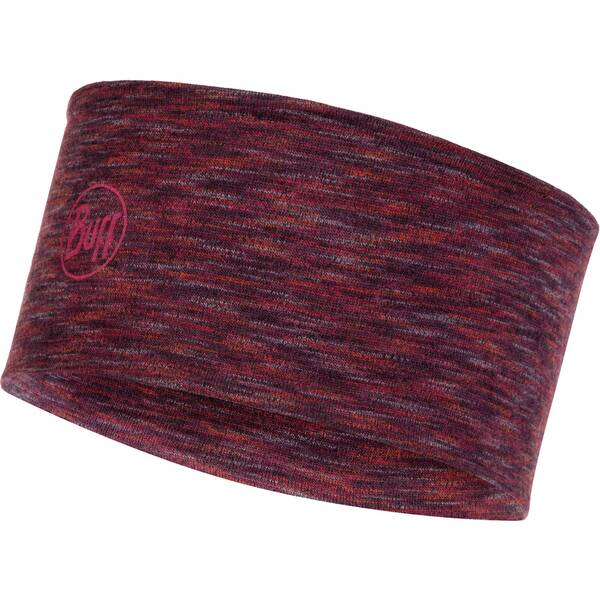BUFF Stirnband Merino Wool Headband Castlerock Grey Multi Stripes
