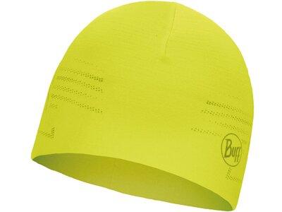BUFF Herren MICROFIBER REVERSIBLE Mütze R-SOLID Gelb
