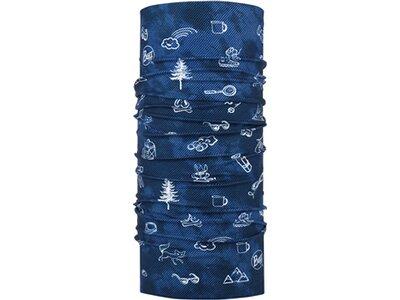 BUFF Kinder Schal Original FUNNY CAMP NAVY Blau