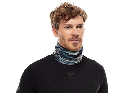 BUFF Herren Schal COOLNET UV+ HARQ STONE BLUE Grau