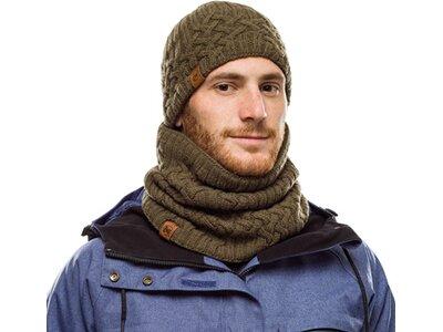 BUFF Herren Knitted & Polar Mütze NEW HELLE Grau