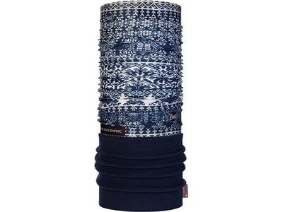 BUFF Herren Schal Polar LICENSES Blau