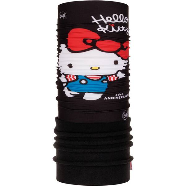BUFF Kinder Schal HELLO KITTY POLAR 45th BLACK