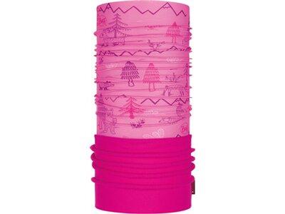 BUFF Kinder Schal POLAR WOODS PINK Pink