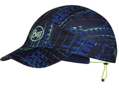 BUFF Herren XL PACK RUN CAP R-SURAL MULTI Blau