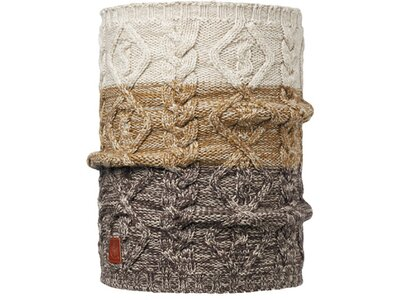 BUFF Herren Schal Knitted COMFORT NUBA Pink