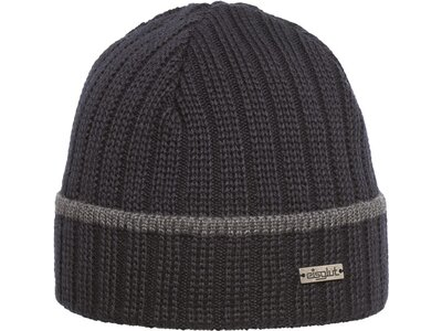 Eisglut Mütze Fisher Merino XL Grau