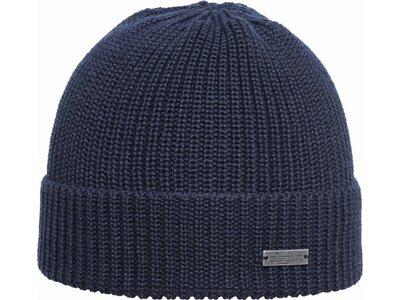 Eisglut Mütze Klaas Merino Blau