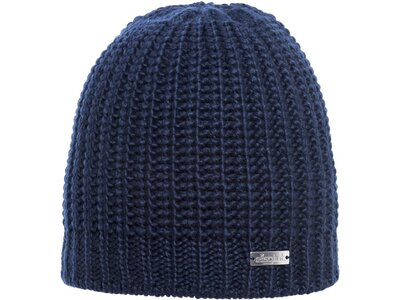 Eisglut Mütze Isolde Merino Blau