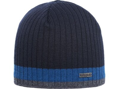 Eisglut Mütze Styrmir Merino Blau