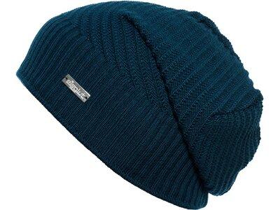 Eisglut Mütze Maren Merino Blau