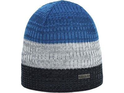 Eisglut Mütze Felix Merino Blau