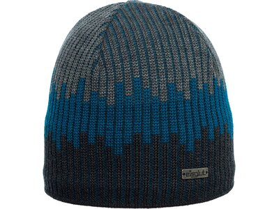 Eisglut Mütze Viktor Merino Blau