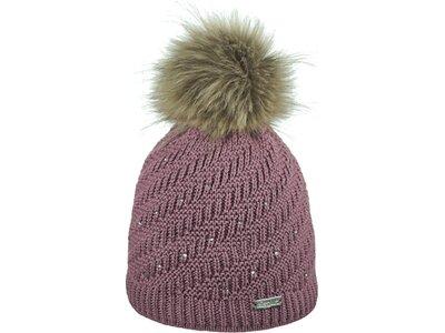 Eisglut Mütze Jasmin Crystal Grau