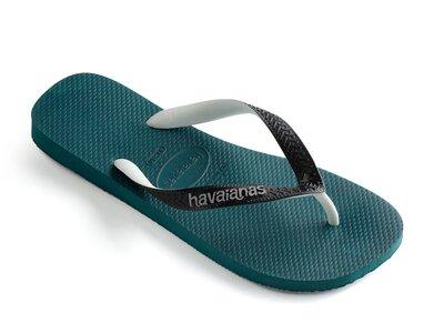 HAVAIANAS TOP MIX GRAPHITE/GREY Blau