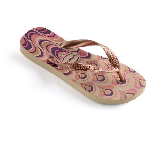 HAVAIANAS DAMEN Flip Flop SPRING SAND GREY/GOLDEN BLUSH