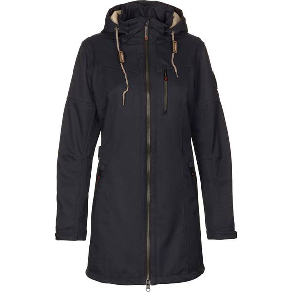 G.I.G.A. DX by killtec Damen Casual Softshellparka mit abzippbarer Kapuze, gebonded mit Pilefleece