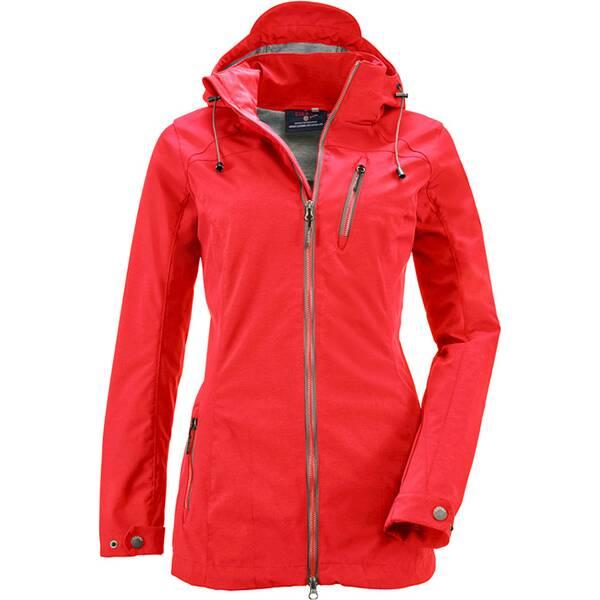 G.I.G.A. DX Damen Casual Softshell Jacke mit abzippbarer Kapuze-Solena
