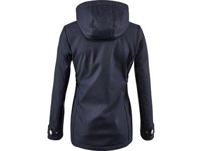"G.I.G.A. DX Damen Casual Softshell Jacke mit abzippbarer Kapuze ""Cushy WMN Softshell JCKT A"" Blau"