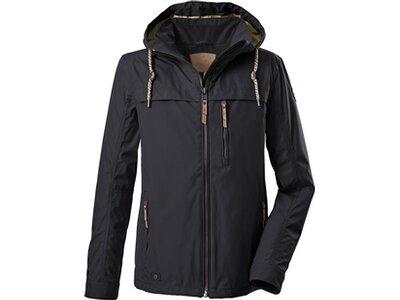 G.I.G.A. DX Casual Softshell Jacke mit abzippbarer Kapuze-Fermoso MN Softshell JCKT A Schwarz