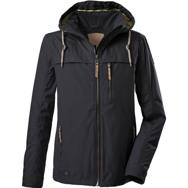 G.I.G.A. DX Casual Softshell Jacke mit abzippbarer Kapuze-Fermoso MN Softshell JCKT A