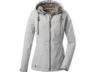 G.I.G.A. DX Damen Casual Softshell Jacke mit Kapuze-Fermoso WMN Softshell JCKT B Silber