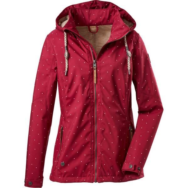 G.I.G.A. DX Damen Casual Softshell Jacke mit abzippbarer Kapuze-Fermoso WMN Softshell JCKT D