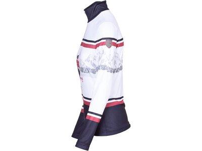 ALMGWAND Damen Shirt Halseralm Weiß