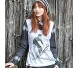 Vorschau: ALMGWAND Damen Shirt Hefteralm