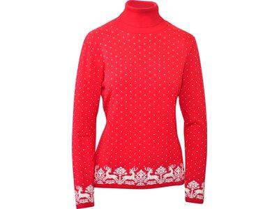 Damen Pullover Bründlingalm Rot